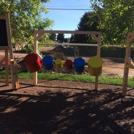 Drums and slide to go with a project at Sussex's new Discovery Park